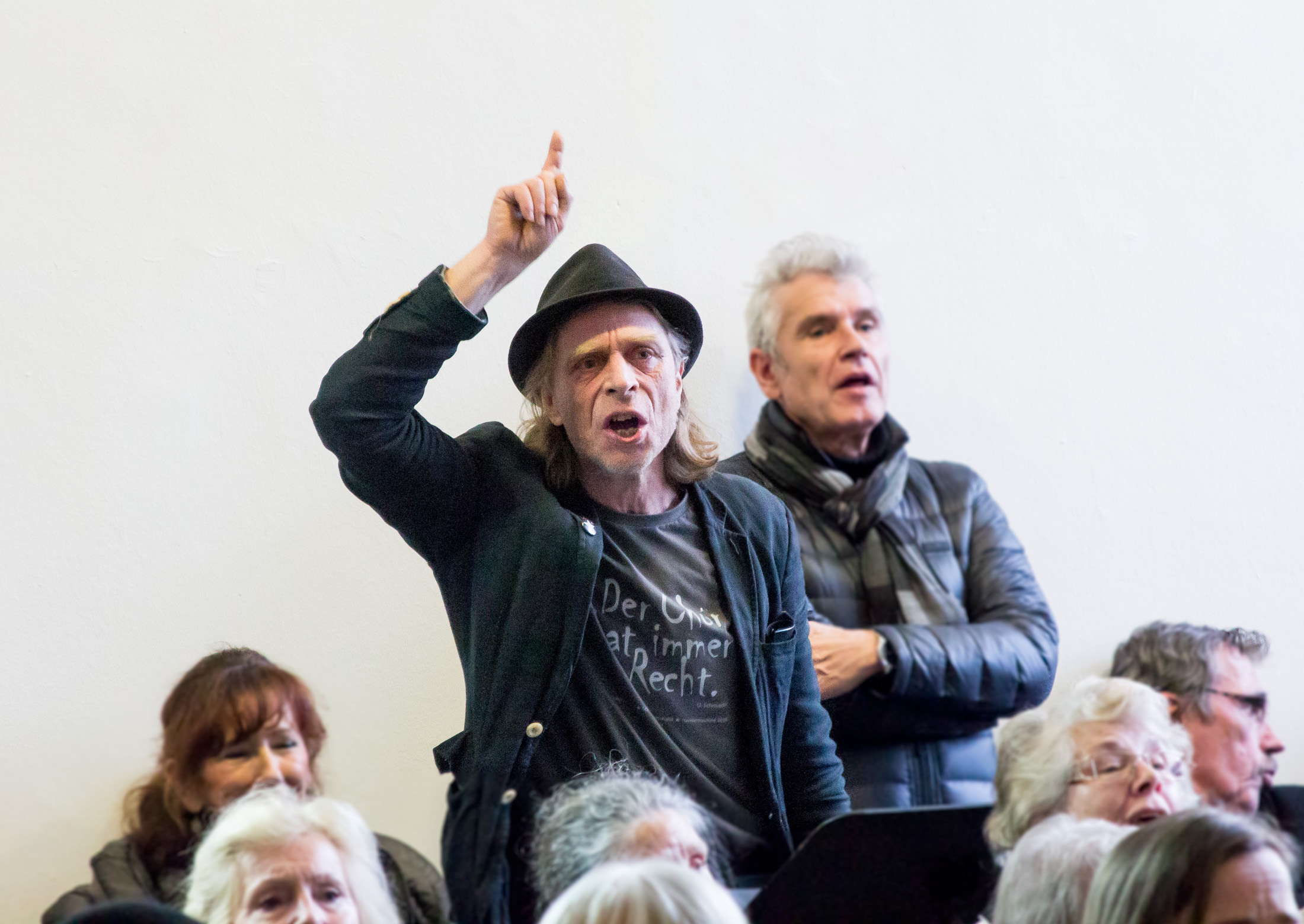 Dortmunder Sprechchor, Regisseur Uwe Schmieder, Jahresauftakt im